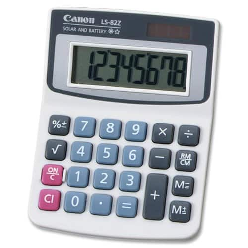 Canon Handheld Calculator $4.38 FS w/ Prime @Amazon
