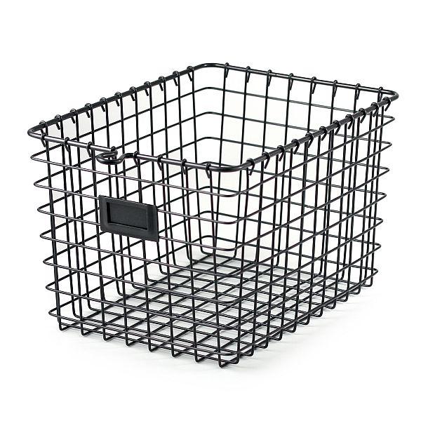 Add-on Item: Spectrum Diversified Wire Storage Basket, Small, Industrial Gray $6.96 @Amazon