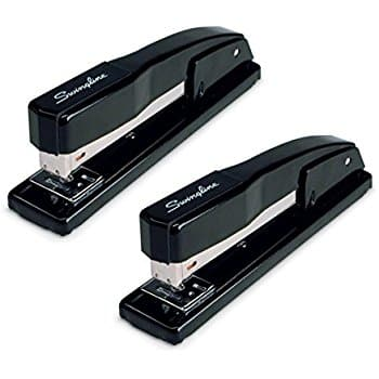 Swingline Stapler, Commercial Desk Stapler, 20 Sheets Capacity, Black, 2 Pack $9.97 FS w/ Prime @Amazon