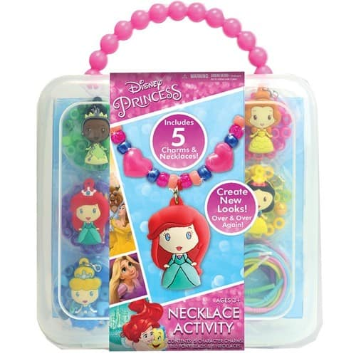 Disney Princess Necklace Activity Set $9.89 FS w/ Prime @Amazon