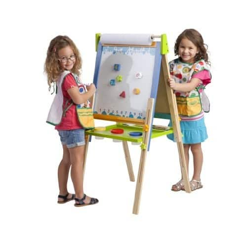 ECR4Kids 3-in-1 Premium Standing Adjustable Art Easel with Accessories for Kids Play Time $48.43 FS @Amazon