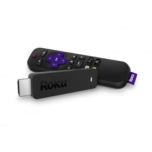 Roku Streaming Stick | Portable, power-packed player with voice remote with TV power and volume (2017) $39.99 FS w/ Prime @@Amazon