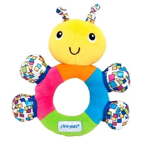 Add-on Item: The First Years My First Rattle $5 @Amazon
