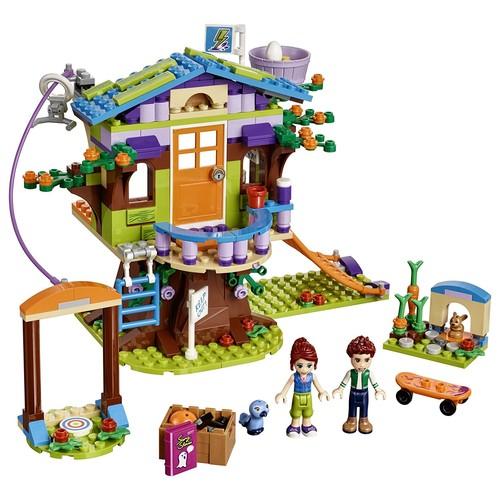 LEGO Friends Mia's Tree House 41335 Building Kit (351 Piece) $23.99 FS w/ Prime @Amazon