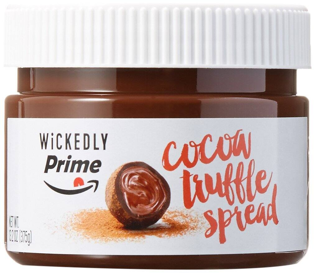 Prime Member: Wickedly Prime Cocoa Truffle Spread, 13.2 Ounce (Pack of 2) $8.48 @Amazon