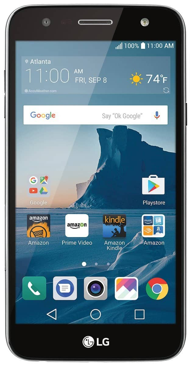 Prime Members: LG X charge - 16 GB – Unlocked (AT&T/Sprint/T-Mobile) - Titanium $99.99 FS @Amazon