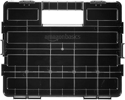 AmazonBasics Tool and Small Parts Organizer - Adjustable Compartments $14.21 FS w/ Prime @Amazon