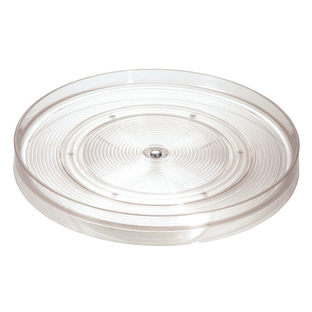 "InterDesign Linus Lazy Susan Cabinet Turntable - Organizer Tray for Kitchen Pantry or Countertops - 11"", Clear $8.7 FS w/ Prime @Amazon"