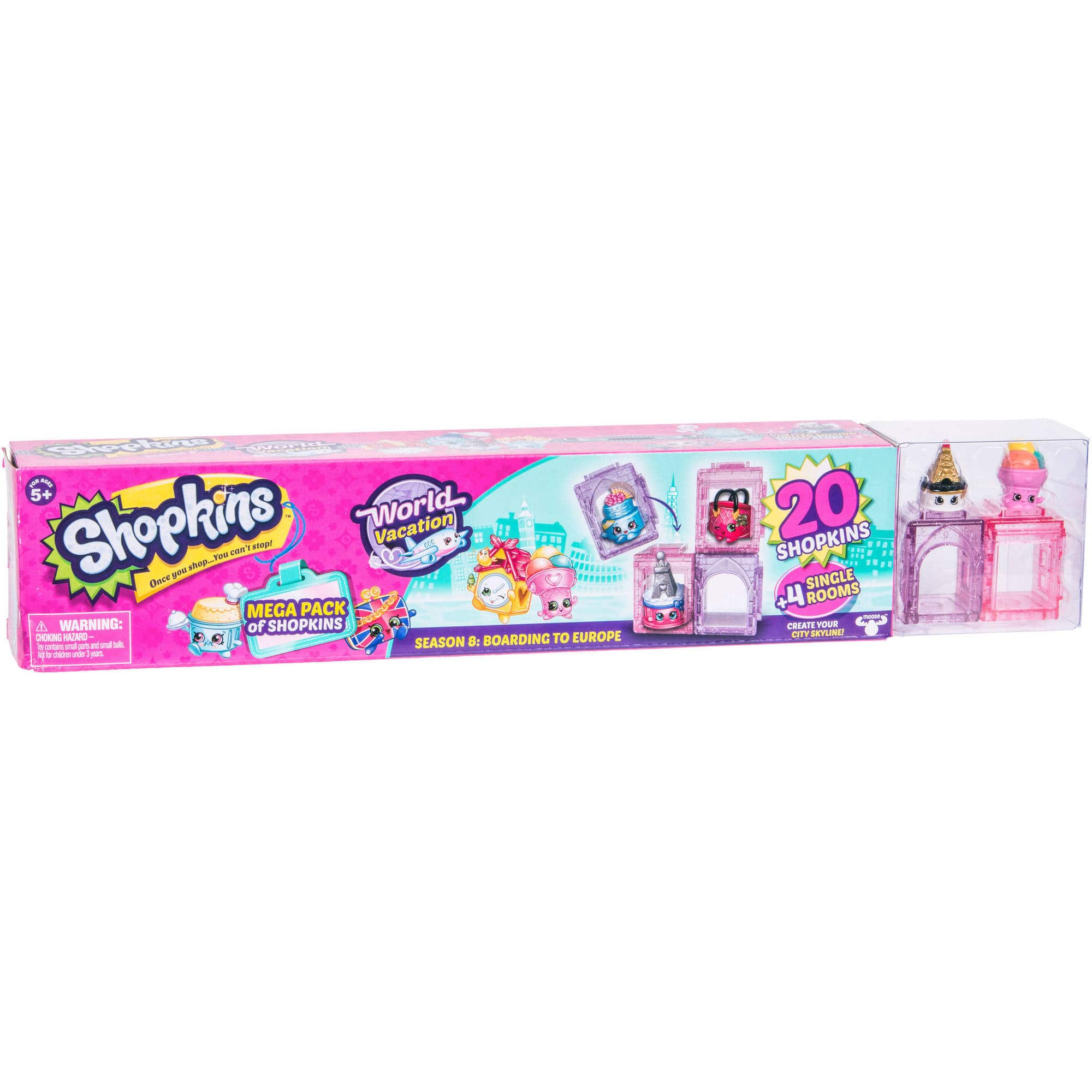 Select Walmart Stores: Shopkins Series 8 Wave 1, Mega Pack