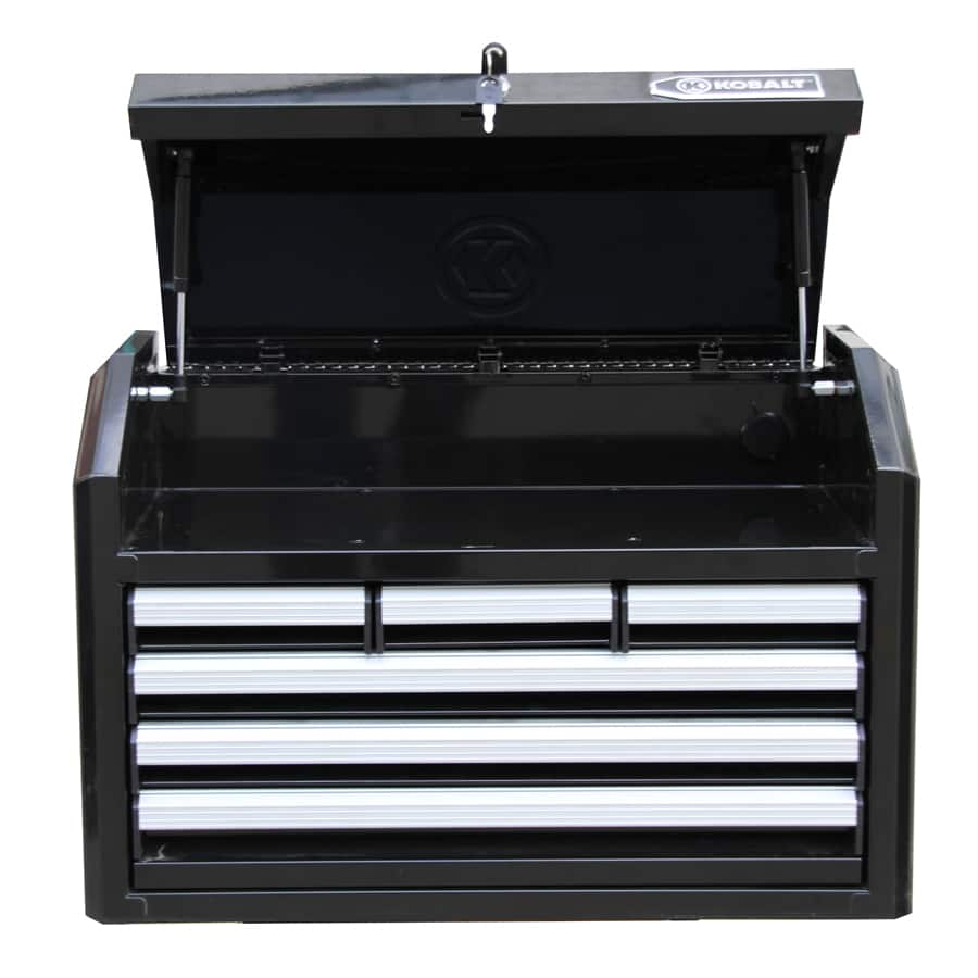 Lowes Kobalt 17.25-in x 26.7-in 6-Drawer Ball-bearing Steel Tool Chest (Black) YMMV -$39.80