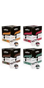 Lavazza Coffee K-Cup Pods Variety Pack for Keurig Single-Serve Coffee Brewers, 64 Count $16.81 with 15% S&S and 25% coupon $18