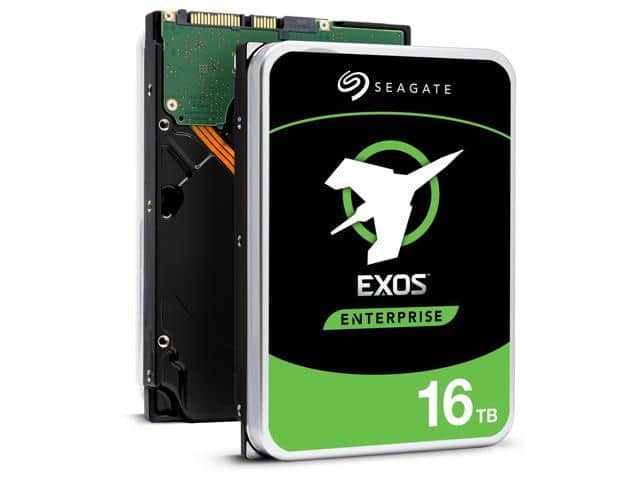 "Seagate Exos 16TB Enterprise HDD X16 SATA 6Gb/s 512e/4Kn 7200 RPM 256MB Cache 3.5"" Internal Hard Drive $372.99"