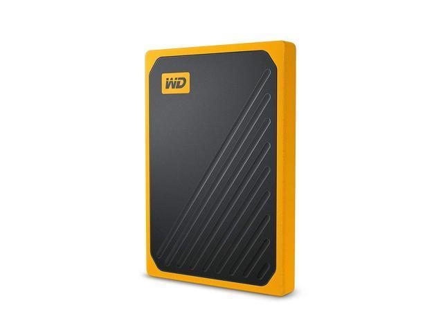 WD 1TB My Passport Go SSD Amber Portable External Storage, USB 3.0 $139.99