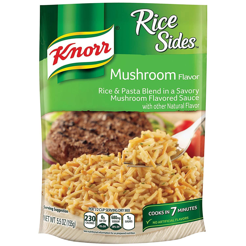 Knorr Rice Sides Dish, Mushroom, 5.5 oz Pack of 8 $8