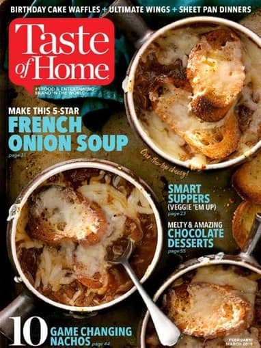 Taste of Home or Saveur for $4.75