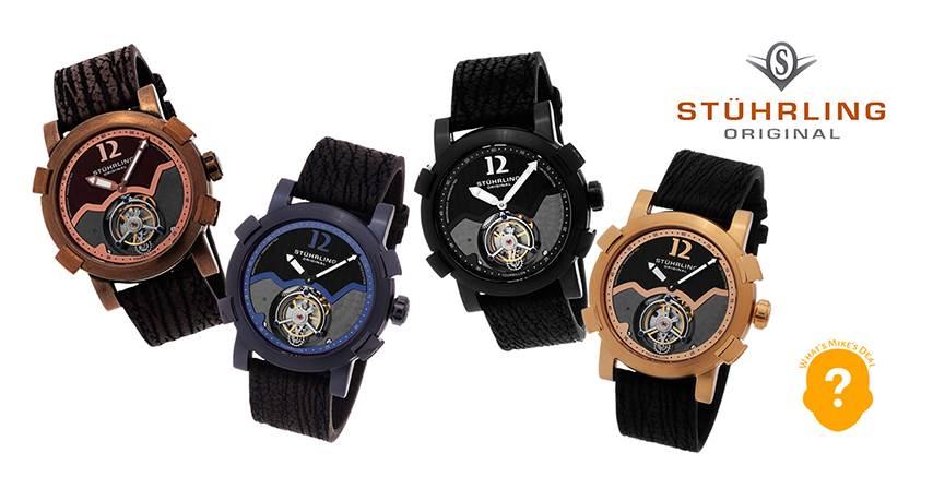 Stuhrling Devil Ray Tourbillon Watch ($699)