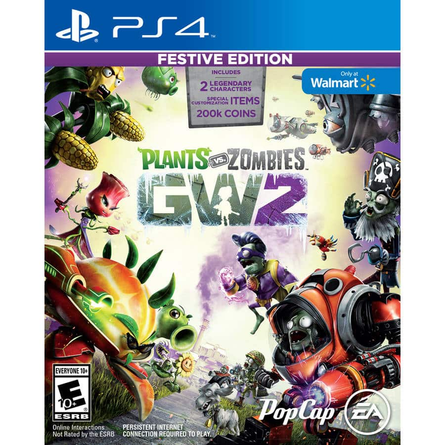 Plants Vs Zombies Garden Warfare 2 Festive Edition Ps4 Or Xbox One