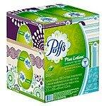 Puffs Facial Tissue + Lotion 6 pack $5.75 delivered at Target