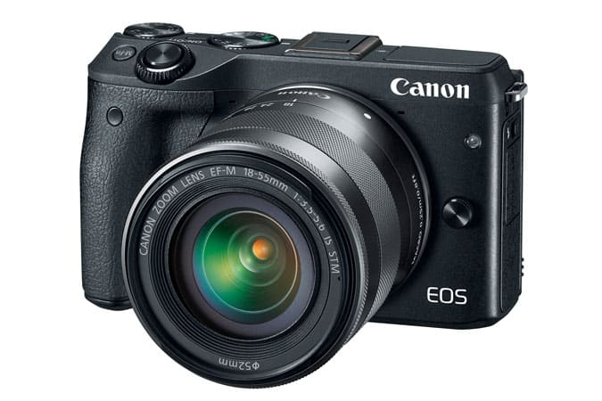 Canon refurbished M3 + 18-55mm IS STM Kit  + electronic viewer $398.99 +tax