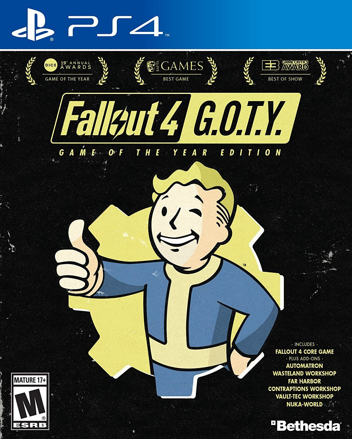 Fallout 4: Game of the Year Edition Untill 12/11 $29.99