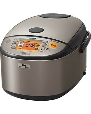 Zojirushi 5.5-Cup Induction Heating System Rice Cooker and Warmer $186 + $30 Kohl's cash with Kohl's card. Free shipping.