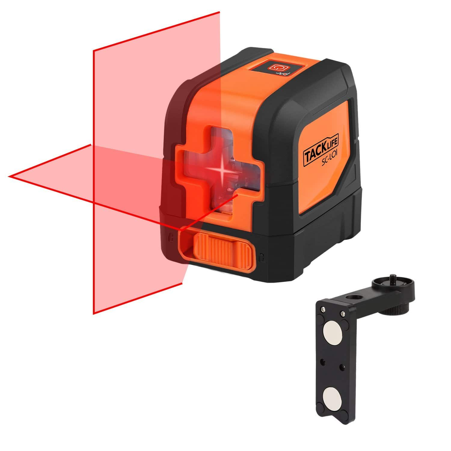 Tacklife SC-L01 - 50 Feet Laser Level Line Laser - $26.97 @ Amazon.com w/ clipped coupon