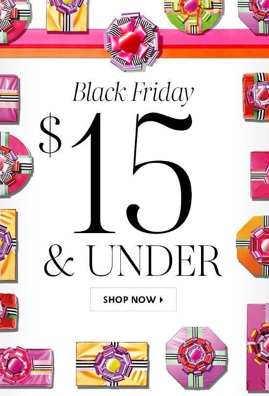 $15 & Under Black Friday Beauty Deals