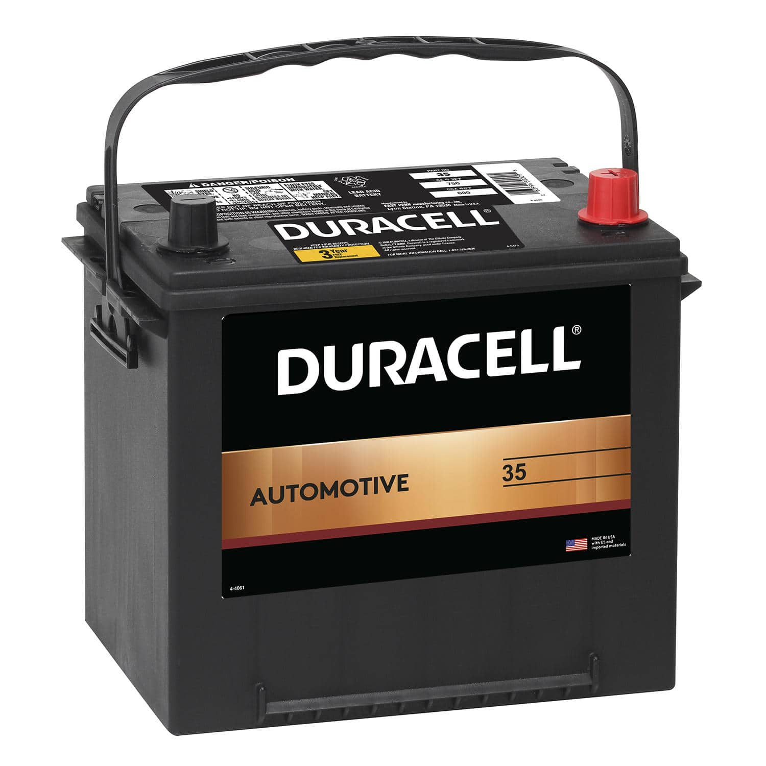 Sam's Club Duracell Automotive battery $20 off