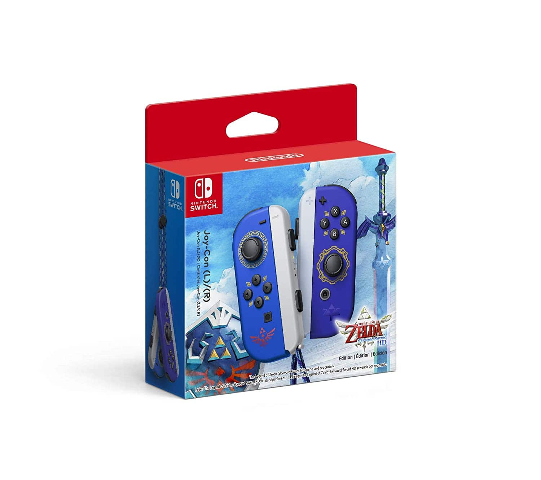 BACK IN STOCK: Nintendo Switch Joy-Cons Skyward Sword Edition $79.99 at Amazon