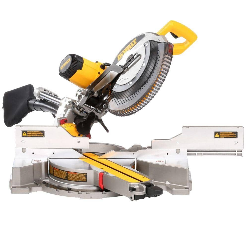 DEWALT DWS 780 15 Amp 12 in. Double Bevel Sliding Compound Miter Saw $349 + Free Shipping