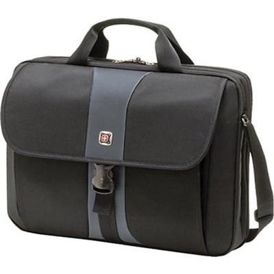 "Swiss Gear Sierra Computer Slimcase Professional Laptop Bag Up to 17"" Black/Steel  $29.95 + fs @buydig.com"