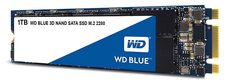 WD Blue 3D NAND 1TB SSD - SATA III & M.2 $199.99 @Amazon
