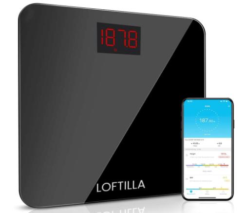 Loftilla Digital Body Weight Scale BMI Scale $14.99 @Amazon