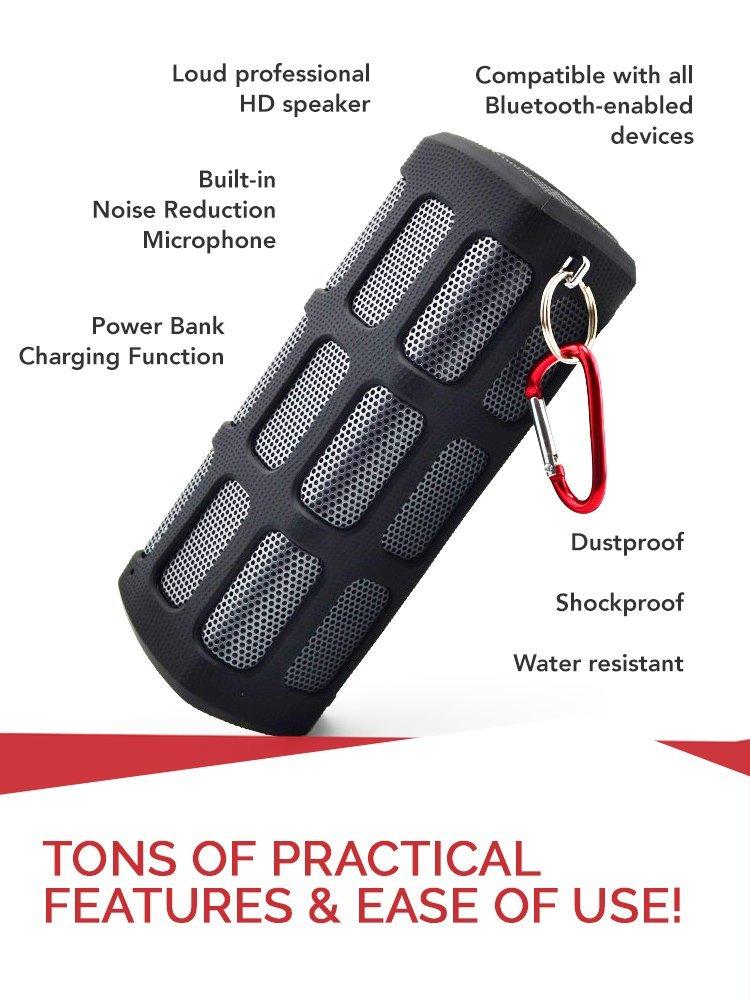 TREBLAB FX100 Bluetooth Speaker ( 65% off )