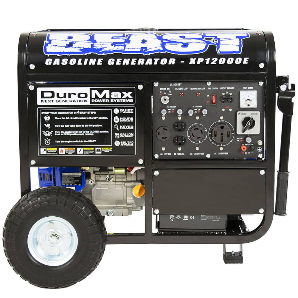 Duromax XP12000E Generator $739 - $50 PRESDAY coupon = $689 shipped - Ebay
