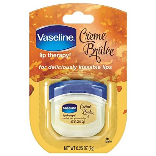Vaseline Lip Therapy, Creme Brulee, 0.25 Ounce [Creme Brulee] $1.4