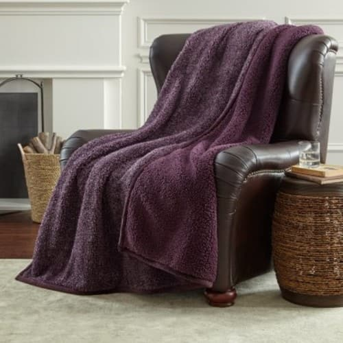 $9.98 for Member's Mark Oversized Cozy Throw (Assorted Colors)