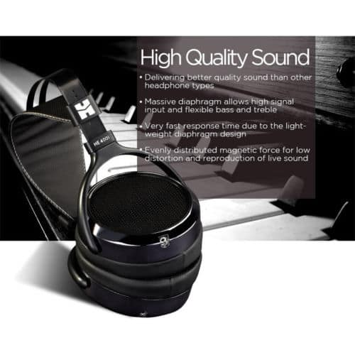 HIFIMAN HE400i Special Edition Over Ear Planar Magnetic Headphones $120 FS