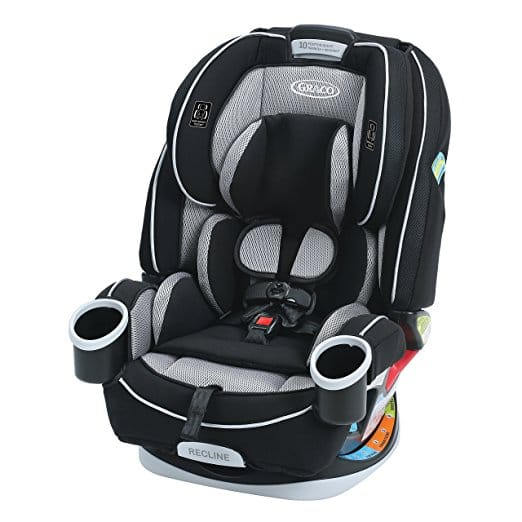 Graco 4ever All-in-One Convertible Car Seat, Matrix at $189, 30% off
