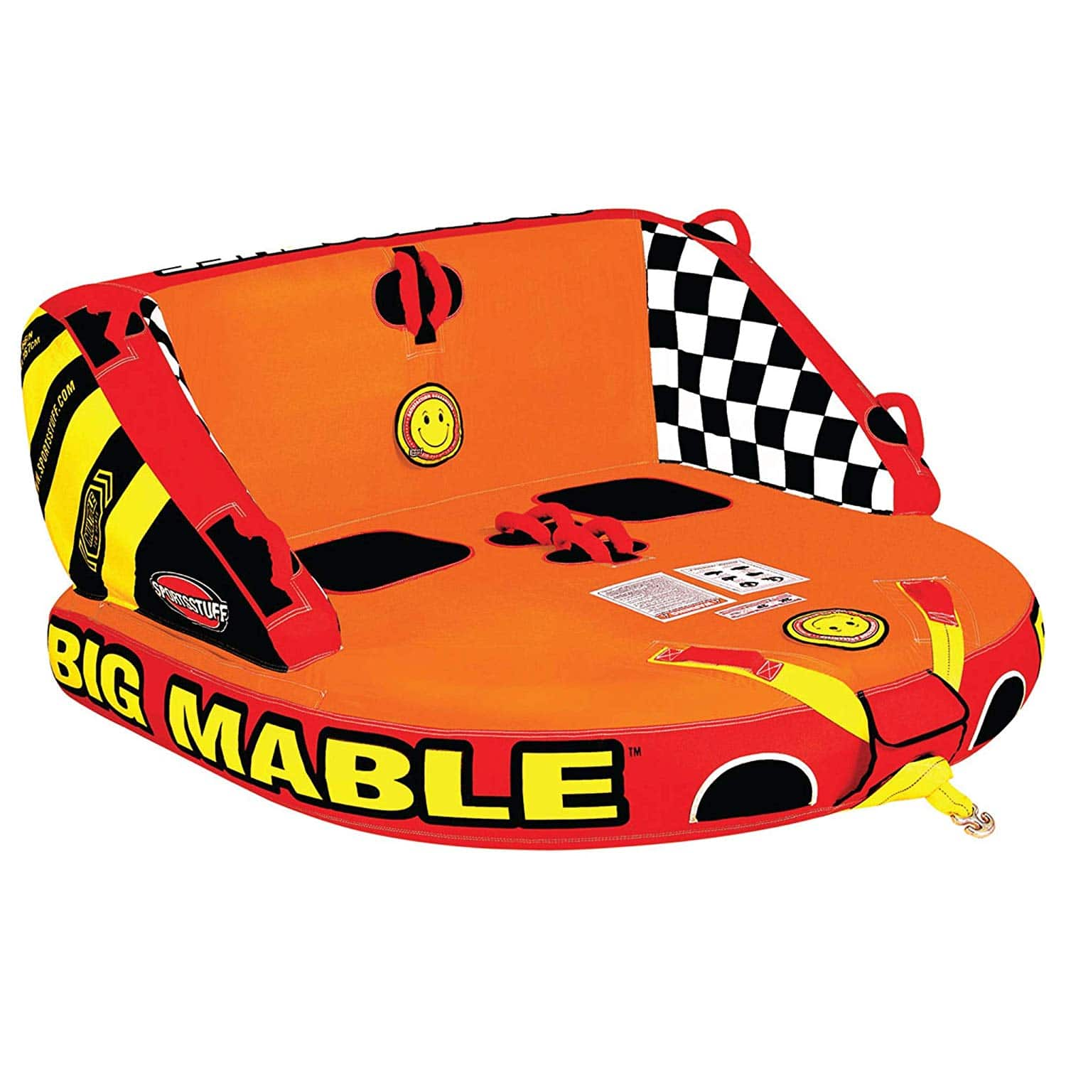 Sportsstuff Big Mable | 1-2 Rider Towable Tube for Boating 142.00 Amazon, 60 off normal