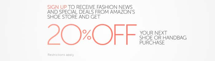 Amazon - 20% off Shoes & Handbags