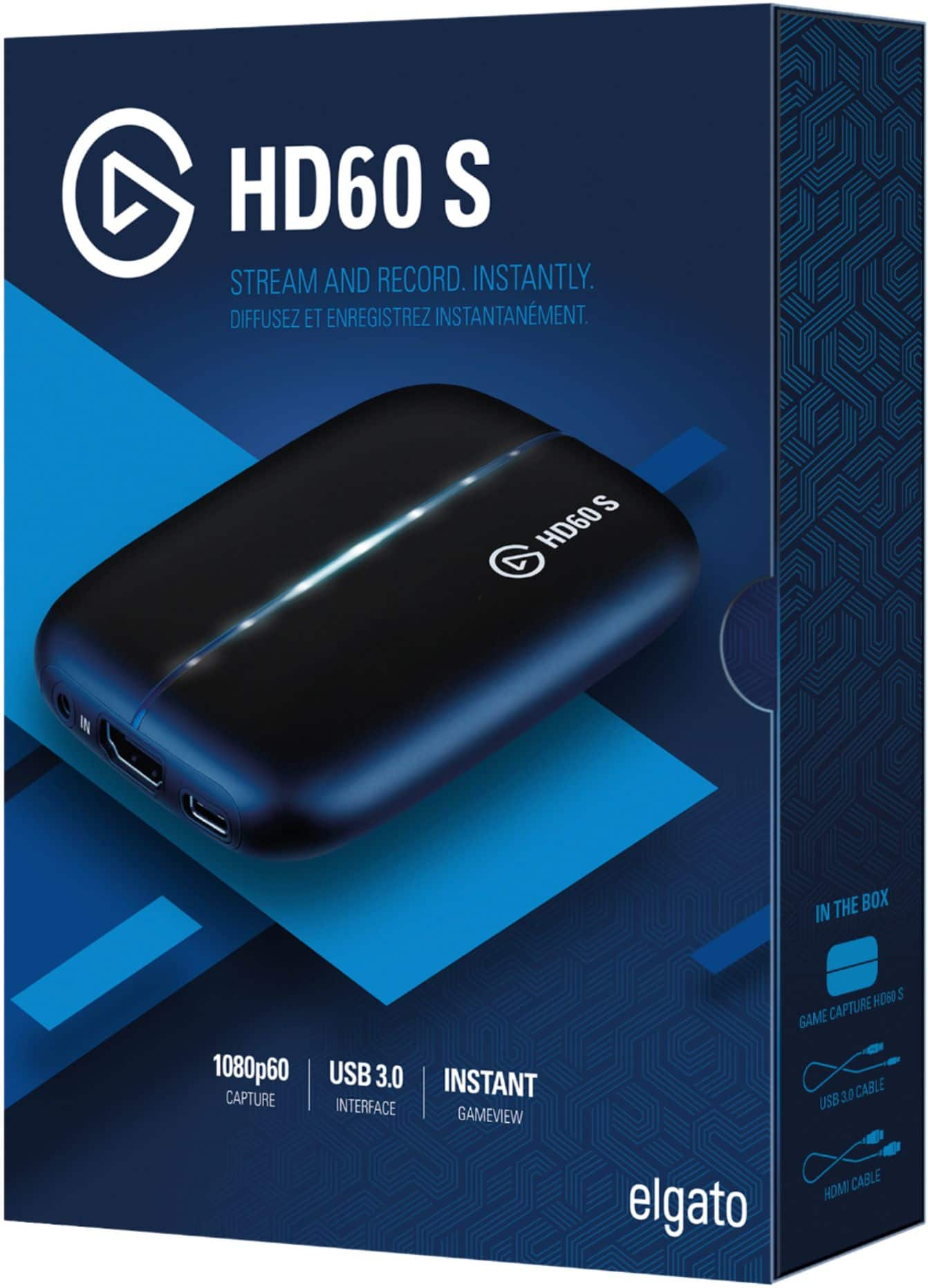 Elgato Game Capture Card HD60 S for $129.99