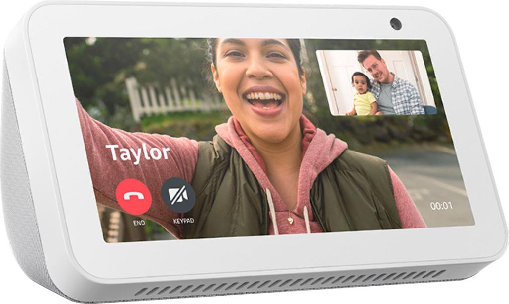 """Amazon Echo Show 5"""" Smart Display with Alexa Sandstone B07HZJ64WD"""