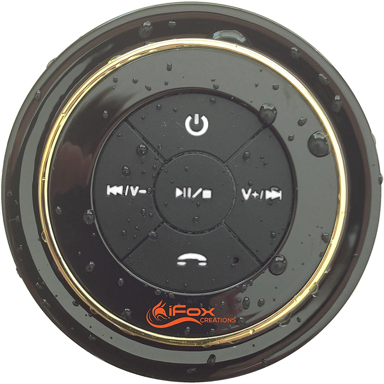 Bluetooth Shower Speaker - Waterproof - Pairs to Phones, Tablets, Computer: $22.77
