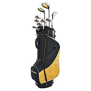 Wilson Golf Men's 2017 Ultra Complete Package Set (Right Hand), Black  $165