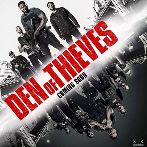"""AMC Stubs - Get DOUBLE POINTS When You See """"Den of Thieves"""" Jan. 18-21 (Targeted)"""