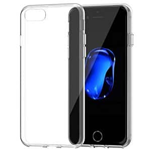 JETech Bumper Case for iPhone 7 and iPhone 7 Plus $3.99 (HD clear / Black)  $3.99+FS W/prime@Amazon.