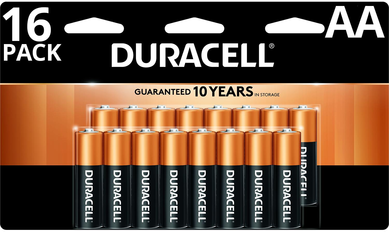 Duracell Coppertop AA/AAA 16-pk & AA 24-pk  + 100% Back in Rewards $19.39