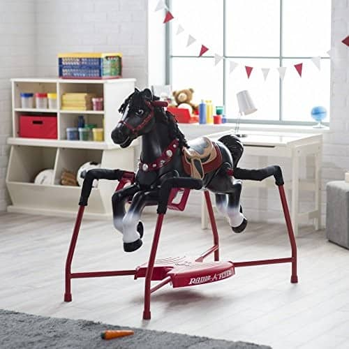 Radio Flyer Duke Interactive Spring Horse Ride-on $79.97 + fs