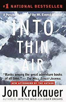 Into Thin Air by Jon Krakauer (Kindle eBook) $2.99